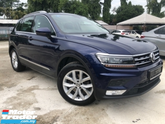 2017 VOLKSWAGEN TIGUAN HIGHLINE 1.4 UNDER WARRANTY ACTUAL YEAR MAKE