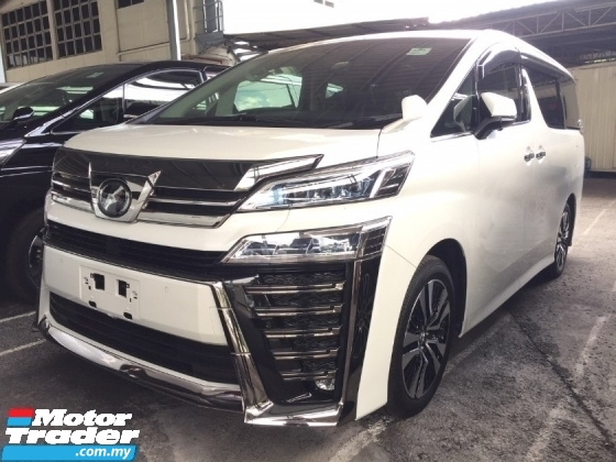 2018 TOYOTA VELLFIRE 2.5 ZG FACELIFT.UNREGISTER.HIGHSPEC.LESS 50 SST.TRUE YEAR CAN PROVE.3 EYE LED.PILOT SEAT.LEATHER ETC