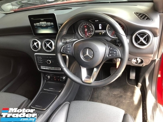 2017 MERCEDES-BENZ A-CLASS A180 URBAN LINE (CBU) 1.6 TURBO NEW FACELIFT