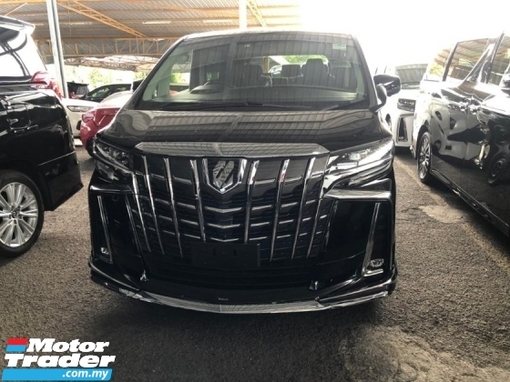 2019 TOYOTA ALPHARD 2.5 SC SUNROOF 360 SURROUND CAMERA POWER BOOT NAPPA LEATHER SEATS AFTER LESS SALES TAX OFF