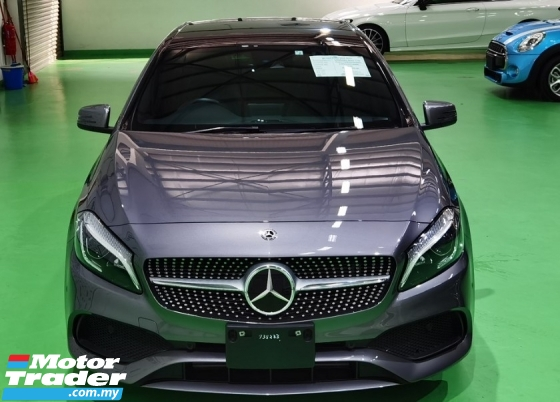 2018 MERCEDES-BENZ A-CLASS 2018 MERCEDES BENZ A180 AMG 1.6 TURBO UNREG JAPAN SPEC CAR SELLING PRICE ONLY RM 169000.00 NEGO
