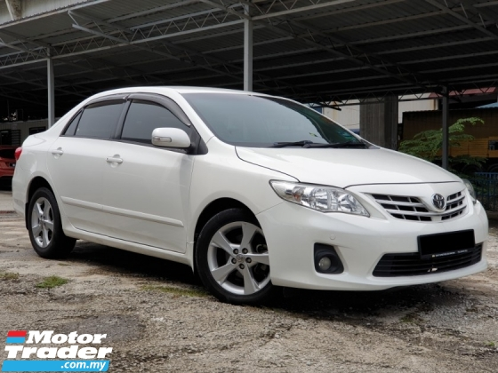 2012 TOYOTA ALTIS 1.8 E (A) ONE OWNER ONLY