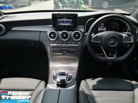 2017 MERCEDES-BENZ C-CLASS C350e TRUE YEAR MADE 2017 CKD Mil done 35k km only Full Service Hap Seng Warranty to July 2021