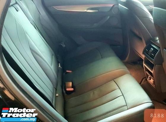2015 BMW X6 40D M SPORT SUV UNREGISTERED