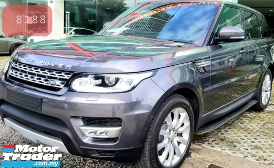 2016 ROVER OTHER 2016 Land Range Rover Sport 3.0D HSE SUV Unreg