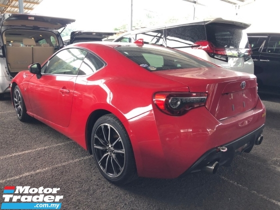 2017 TOYOTA 86 GT Version New Facelift New LED Headlamp 2.0 Boxster Engine Push Start Button Paddle Shift Steering