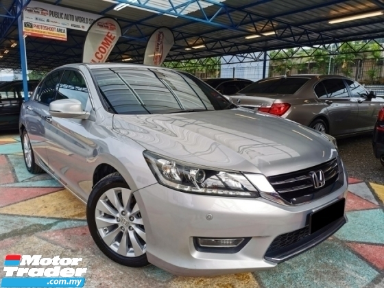2013 HONDA ACCORD Honda ACCORD 2.0 VTi-L F/LEATHER F/SERVICE WRRANTY
