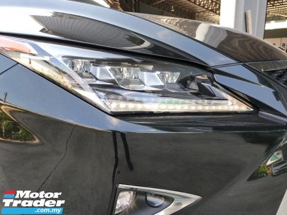 2017 LEXUS RX 200T F Sport 4WD Sun Roof PCS LKA HUD PBoot Unregister Offer