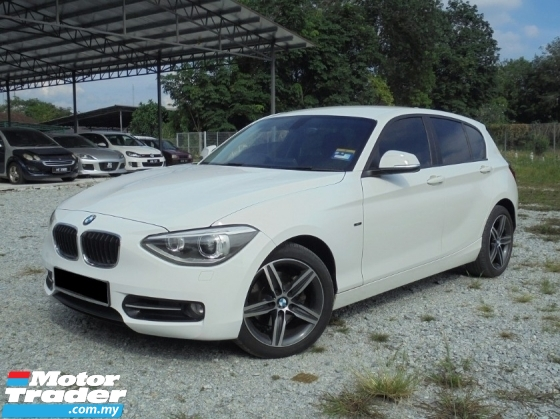 2014 BMW 1 SERIES 118i SPORT 1.6 F20 TwinTurbo Facelift HIGHLOAN