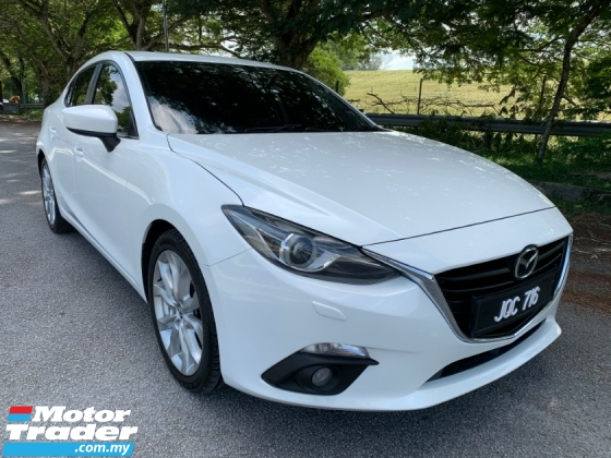 2015 MAZDA 3 2.0 (A) CBU Sunroof 1 Owner Only TipTop Condition