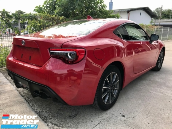 2017 TOYOTA 86 2.0 FACELIFT G SPEC MUST VIEW UNREGISTERED