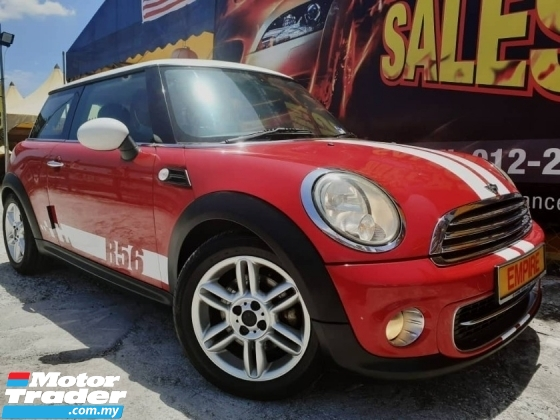 2012 MINI Cooper S 1.6 (A) DOHC SPORT EDITION !! PREMIUM 2 DOOR COUPE