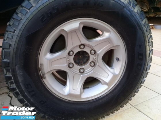 2004 FORD EVEREST 2.5 TDCI 4X4 (M)