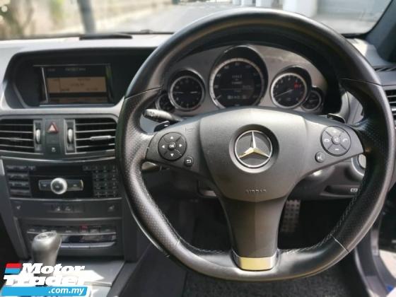 2013 MERCEDES-BENZ E-CLASS E250 CGI 1.8 AMG SPRT Coupe C207 2 DOOR 3YR WARANT