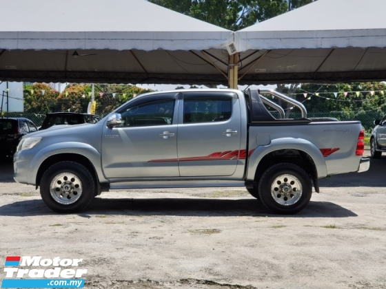 2016 TOYOTA HILUX 2.5 G DOUBLE CAB 100% NOT OFFROAD CAR
