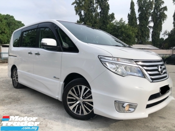 2017 NISSAN SERENA S HYBRID HIGHWAY STAR 2.0 (A) ON THE ROAD PRICE