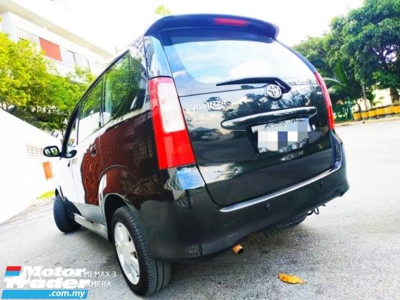 2007 TOYOTA AVANZA 1.3 Auto LOan Keda1 Muko Cikit