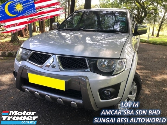 2013 MITSUBISHI TRITON 2.5 VGT GS (A) HIGH POWER 1 OWNER SALE