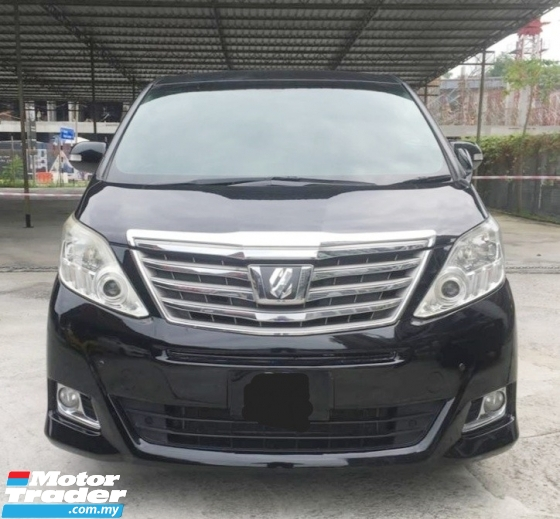 2013 TOYOTA ALPHARD 2.4 AT MZG MPV FULL SPEC 2 POWER DOOR LOW MILEAGE
