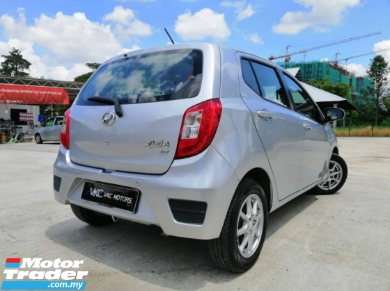 2016 PERODUA AXIA 1.0 G  Full Service Record & Low Mileage