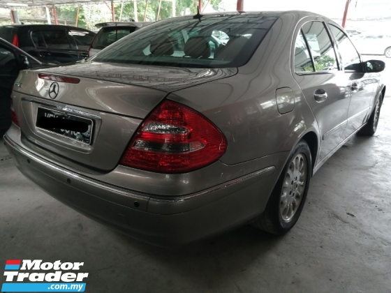 2003 MERCEDES-BENZ E-CLASS E240 AVANTGARDE LIMITED
