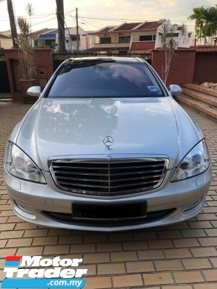 2006 MERCEDES-BENZ S-CLASS S350L IMPORTED NEW FULL SPEC PANORAMIC REAR ENT