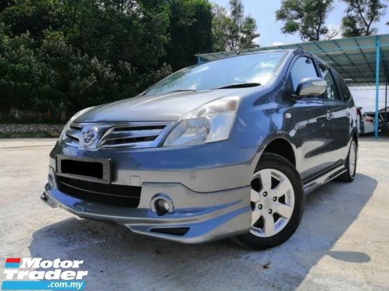 2012 NISSAN LIVINA Nissan LIVINA 1.8 IMPUL (A)