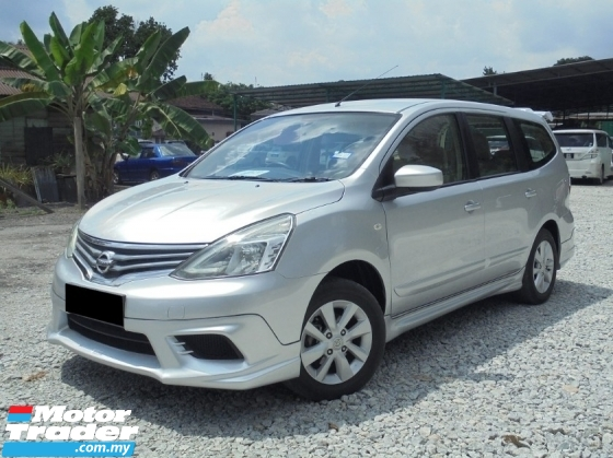 2015 NISSAN GRAND LIVINA 1.6 ST-L IMPUL TipTOP Facelift