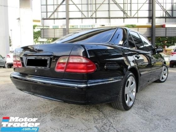 2001 MERCEDES-BENZ E-CLASS E280 (A) W210 TipTOp ConDiTIon AccFree