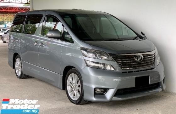 2010 TOYOTA VELLFIRE 3.5 Auto Pilot Seat Premium Model