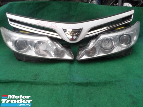 TOYOTA ESTIMA HEAD LAMP WITH GRILLE ACR55 SET