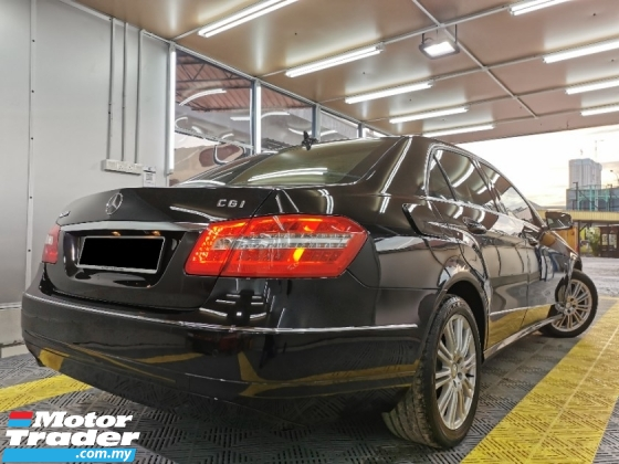 2011 MERCEDES-BENZ E-CLASS Mercedes Benz E200 (A) BlueEFCY PERFECT WARRANTY