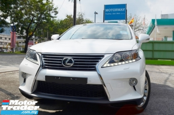 2014 LEXUS RX350 3.5 NEW FACELIFT SERVICE RECORD