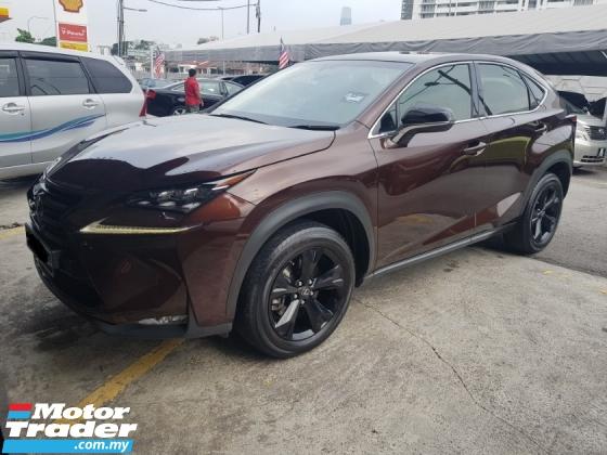 2017 LEXUS NX 200T (A) LIKE NEW