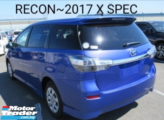 2017 TOYOTA WISH x sepc  s spec 2016 Price rm92888.88otr 100Not other charges blacklist~Can loan