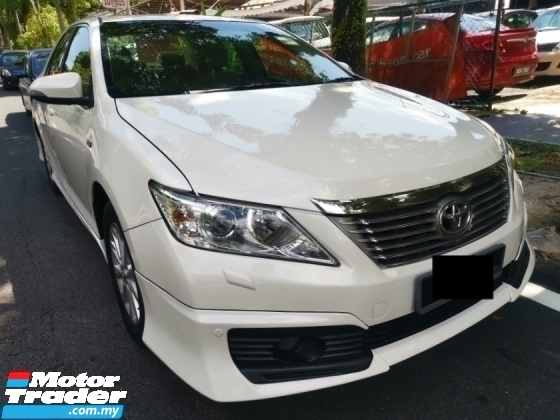 2014 TOYOTA CAMRY Toyota CAMRY 2.0 E FACELIFT (A) 1 OWNER FULL BODYKIT