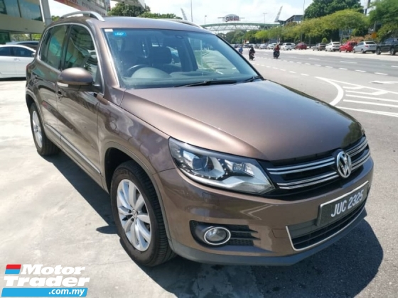 2013 VOLKSWAGEN TIGUAN 2.0 TSI 4Motion Facelift (A) - One Lady Owner