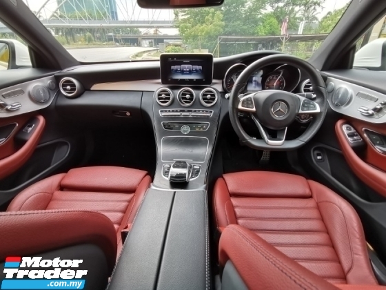 2018 MERCEDES-BENZ C-CLASS C300 AMG Coupe Premium Plus {U.K Mercedes Approved Pre-Owned* Genuine Mileage} C250 E250 E300