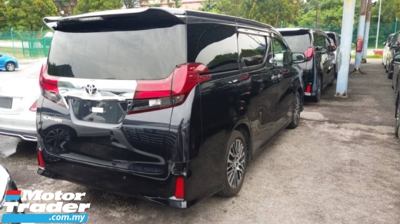 2016 TOYOTA ALPHARD 2.5 SC BASIC SPEC WITH COLOUR OF SPARKLING BLACK