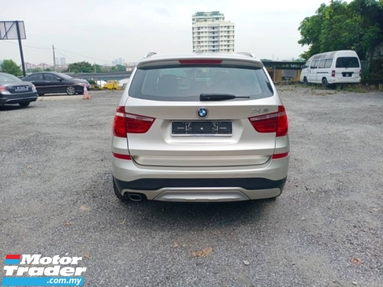 2015 BMW X3 XDRIVE20D 2.0 (1 LADY CAREFUL OWNER)