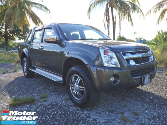 2012 ISUZU D-MAX LS 2.5 MANUAL 4WD / DIESEL GREEN ENGINE / ORI YEAR MAKE 2012 / TIPTOP CONDITION