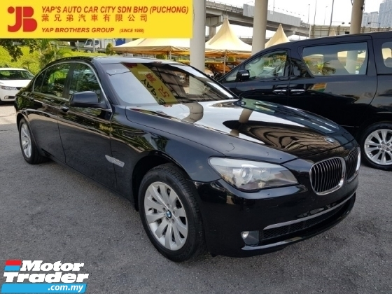 2010 BMW 7 SERIES 730LI CBU