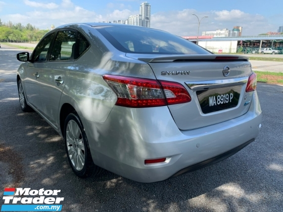 2015 NISSAN SYLPHY 1.8 (A) VL Full Service Record Original Paint