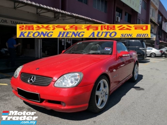 2000 MERCEDES-BENZ SLK 230 KOMPRESSOR TRUE YEAR MADE 2000 Working Condition Hard Top Convertible 2005