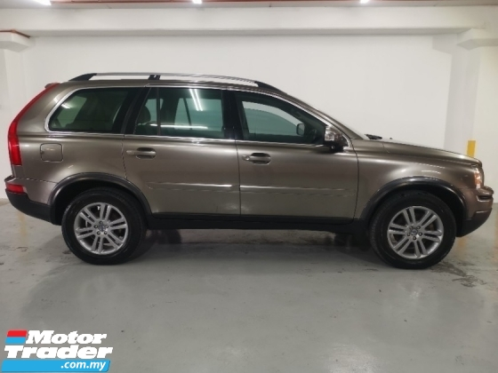2011 VOLVO XC90 2011 Volvo XC90 2.5 T FACELIFT (A) 1 OWNER