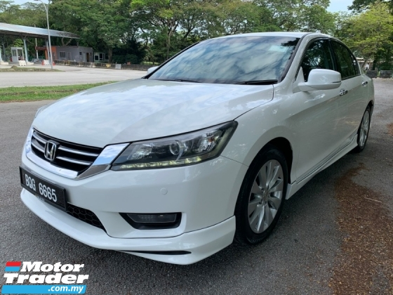2016 HONDA ACCORD 2.0 VTi-L (A) 1 Lady Owner Only TipTop Condition