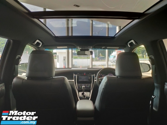 2017 TOYOTA HARRIER 2.0 Turbo Facelift Panaromic Roof PreCrash LDA Unregister
