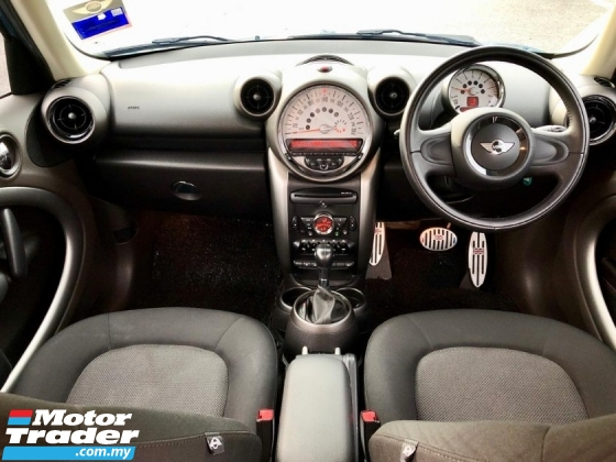 2011 MINI Countryman 1.6 COOPER SUV CAR KING CONDITION ORI PAINT