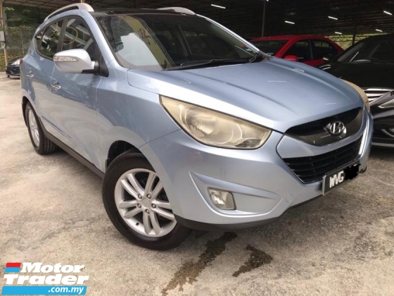 2011 HYUNDAI TUCSON 2.0 HIGH SPEC