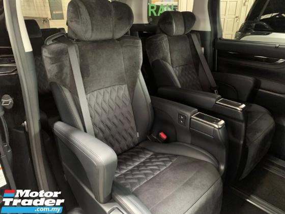 2016 TOYOTA VELLFIRE 2.5 ZG Pilot Seat Alpine Unregister 2Yrs Warranty